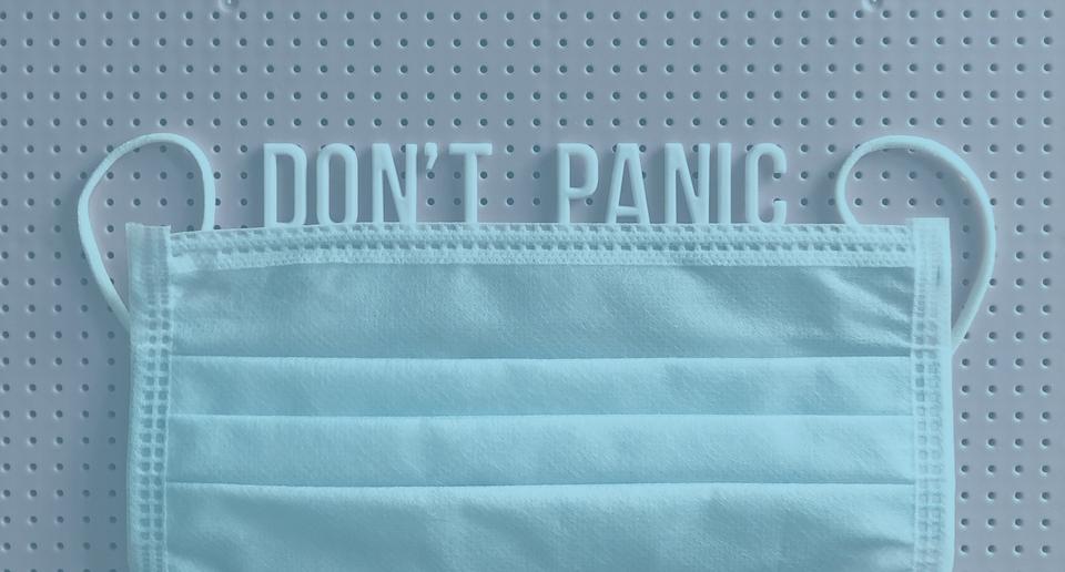 mask don't panic
