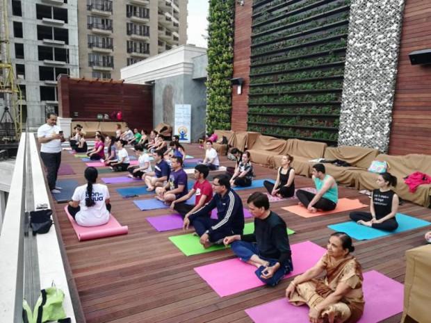"""Yoga Flashmob organized by """"Tovmasyan"""" foundation cover"""