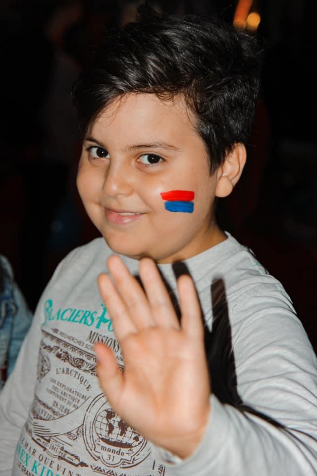 Together for Artsakh's children cover
