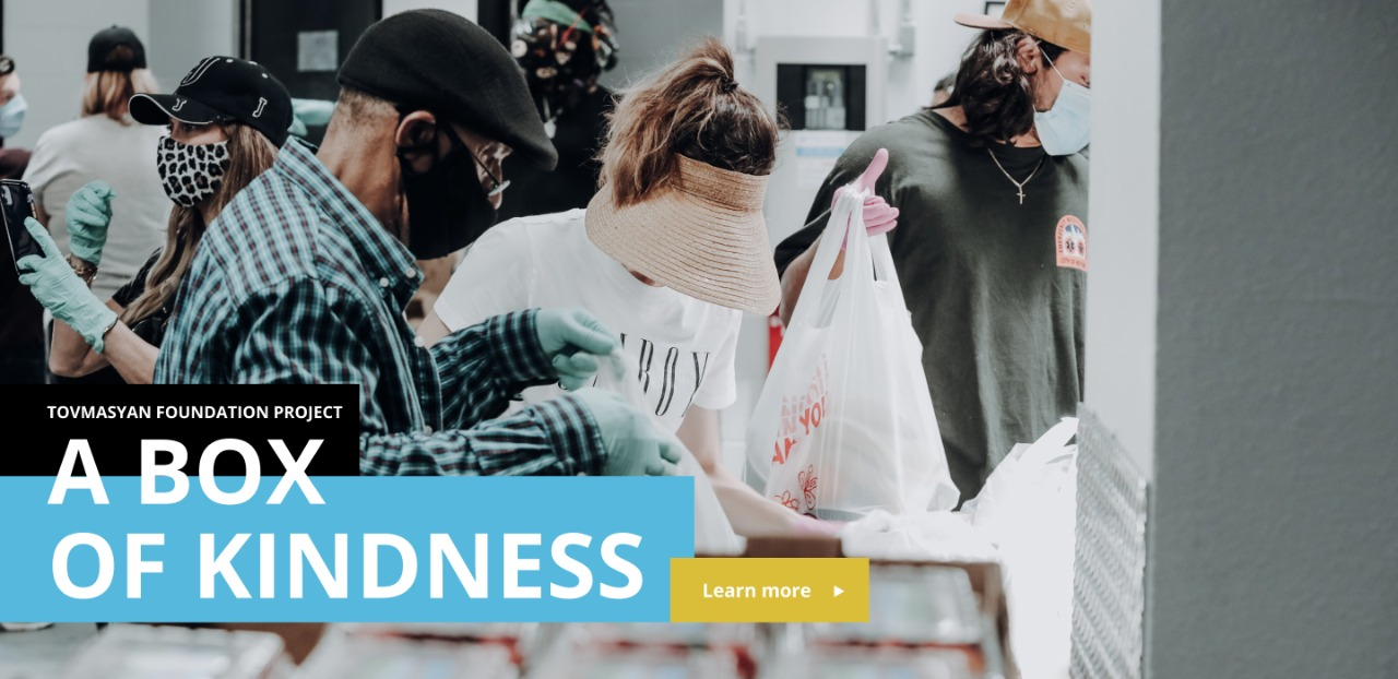A BOX OF KINDNESS - Project Cover